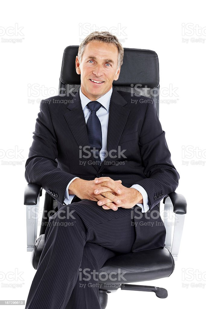 Portrait of successful male entrepreneur royalty-free stock photo