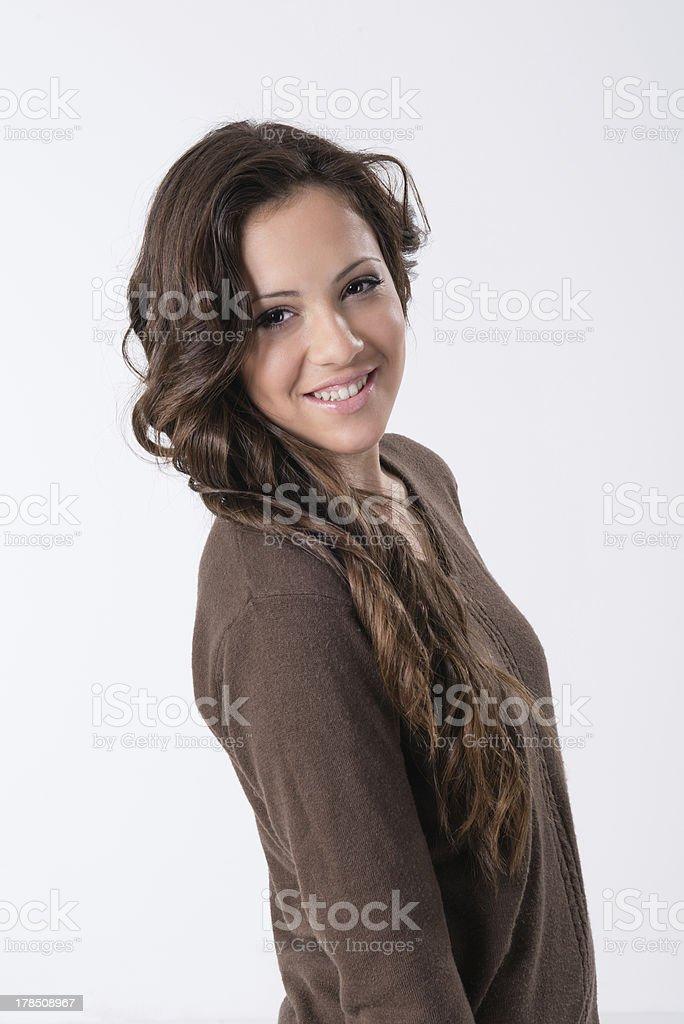 portrait of teenage girls royalty-free stock photo