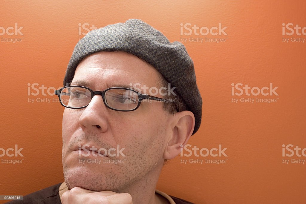 Portrait of the Artist royalty-free stock photo