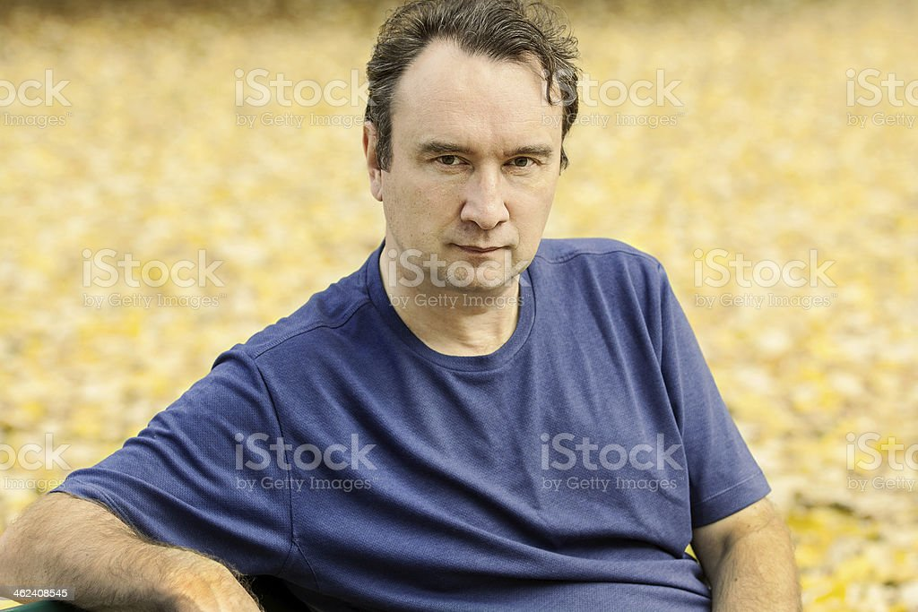 portrait of the man royalty-free stock photo