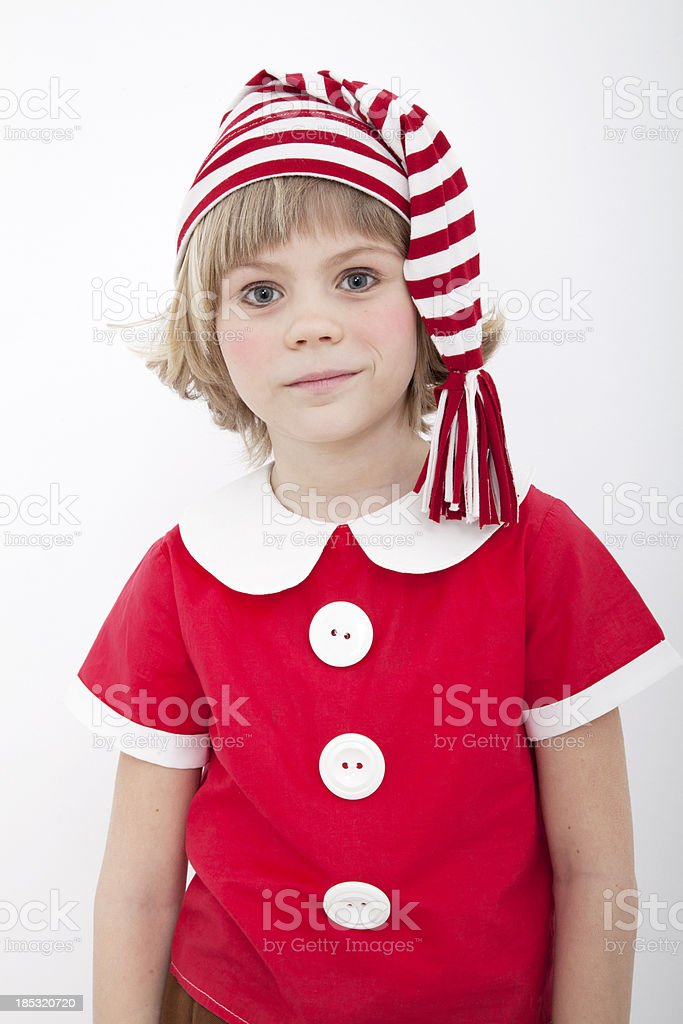 Portrait of the small boy royalty-free stock photo