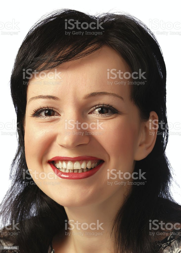 Portrait of the woman royalty-free stock photo