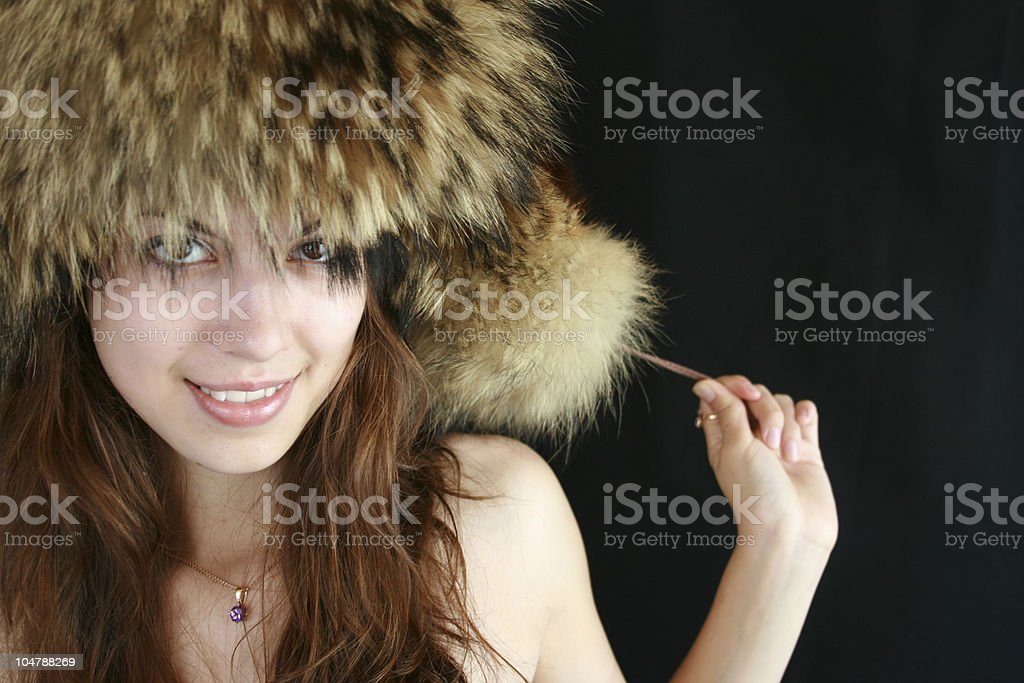 Portrait of the young girl. royalty-free stock photo