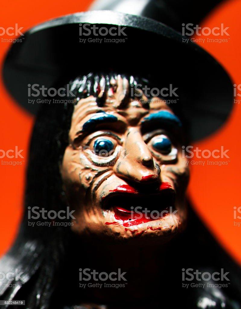 Portrait of Witch stock photo