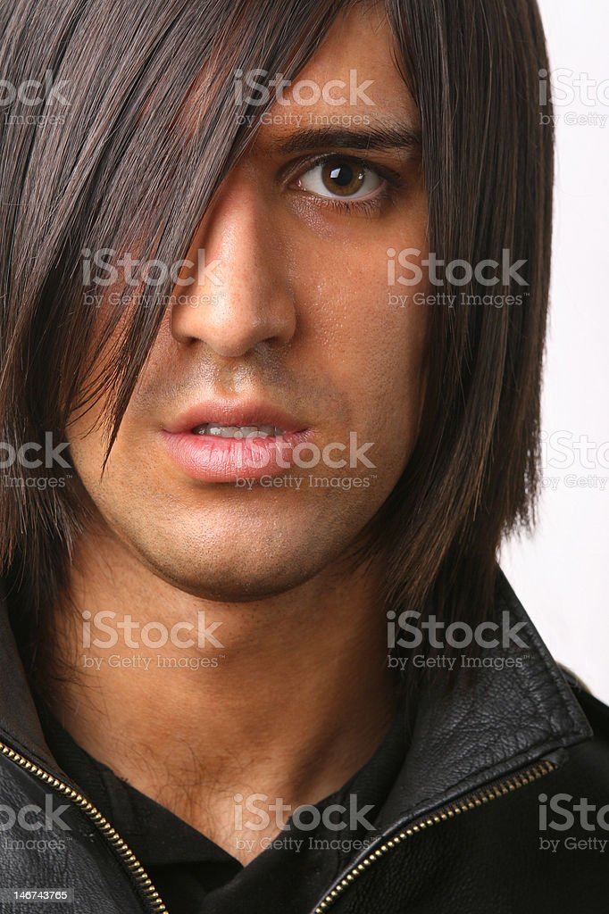 portrait of young adult stock photo