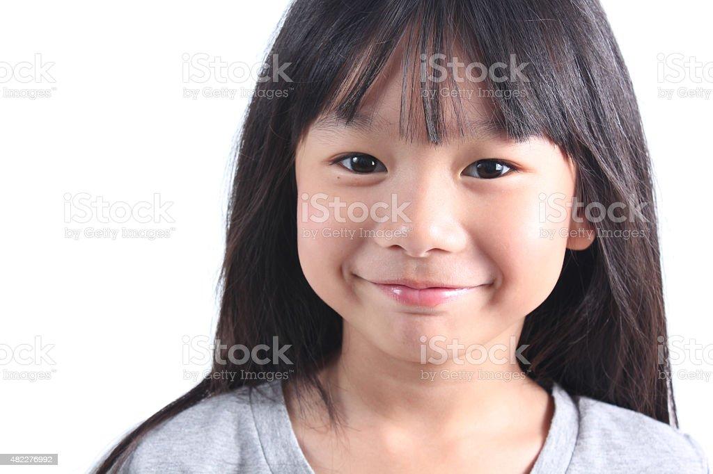 Porträt von Junge hübsche Mädchen Lizenzfreies stock-foto