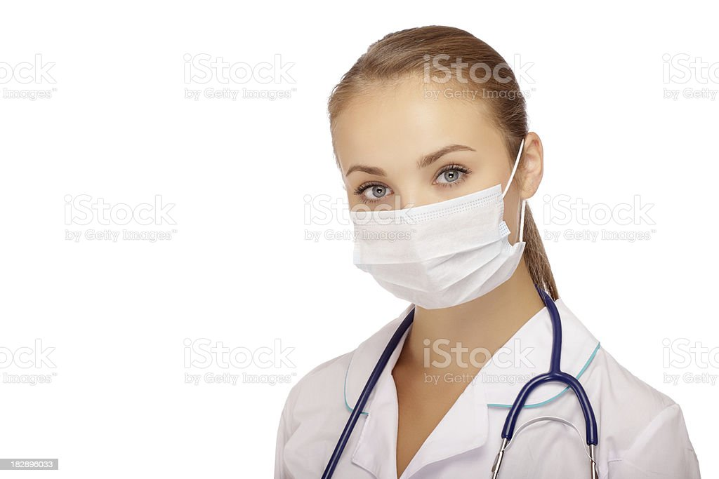 portrait of young doctor royalty-free stock photo
