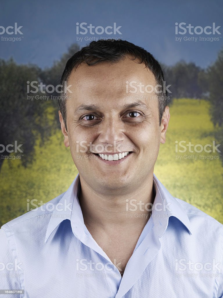 Portrait of Young Man royalty-free stock photo