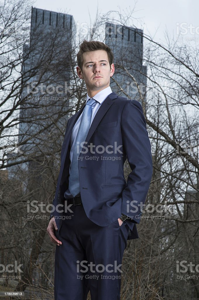 Portrait of Young Professional royalty-free stock photo