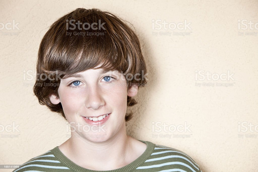 Portrait of young teenager royalty-free stock photo