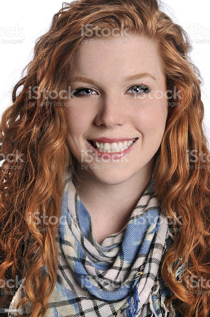 Portrait of Young Woman royalty-free stock photo