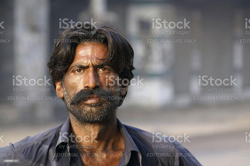 Portrait Pakistan, Lahore stock photo