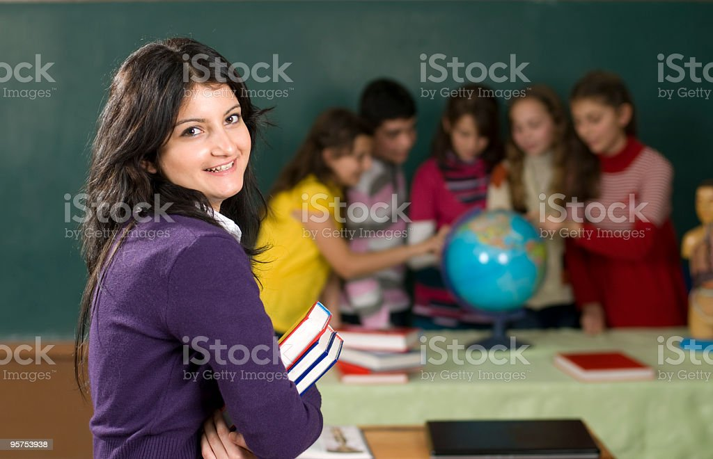 Portrait Student royalty-free stock photo