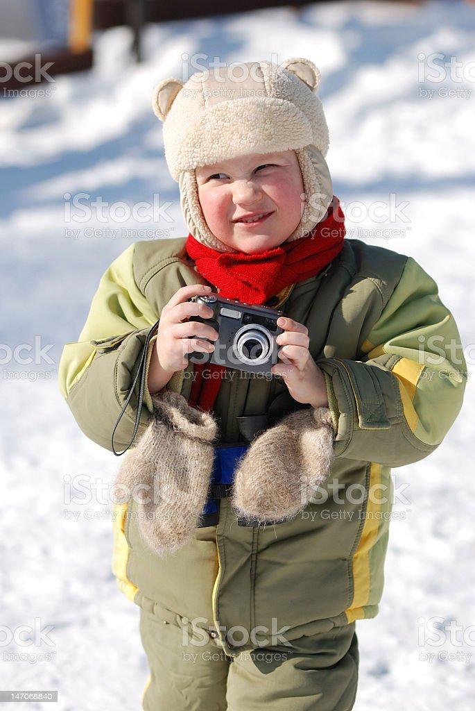 Portrait the little boy royalty-free stock photo