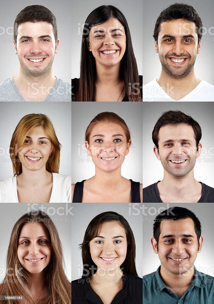 Portraits royalty-free stock photo