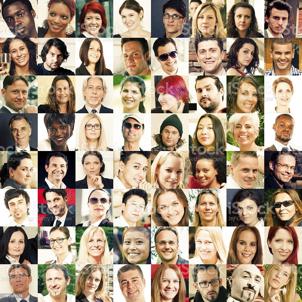portraits stock photo