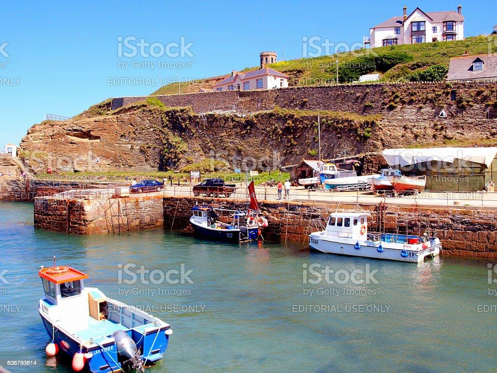 Portreath, Cornwall. stock photo