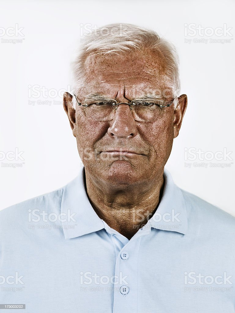 Portriat of a Man royalty-free stock photo
