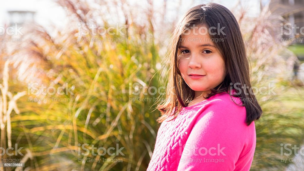 Portriat of Young Girl stock photo