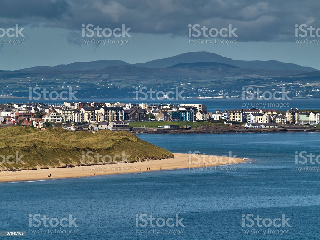 Portrush, Northern Ireland stock photo