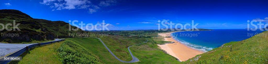 Portsalon beach, County Donegal, Ireland stock photo