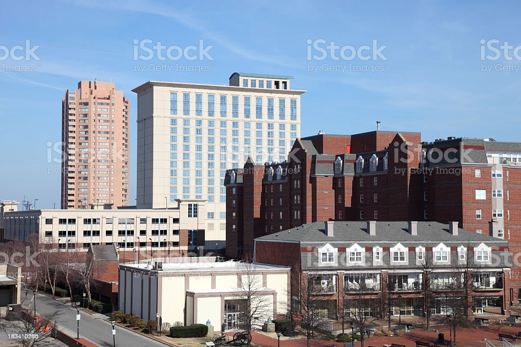 Portsmouth, Virginia stock photo