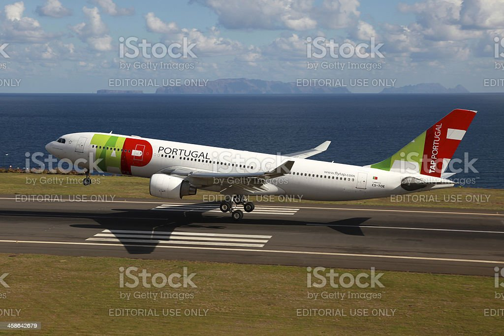 TAP Portugal Airbus A330 stock photo