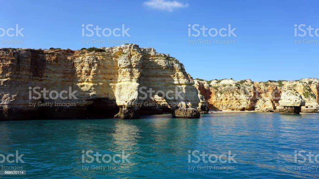 portugal algarve stock photo