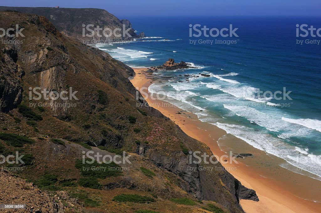 Portugal, Algarve Region. South-West Alentejo and Vicentine Coast Natural Park. stock photo