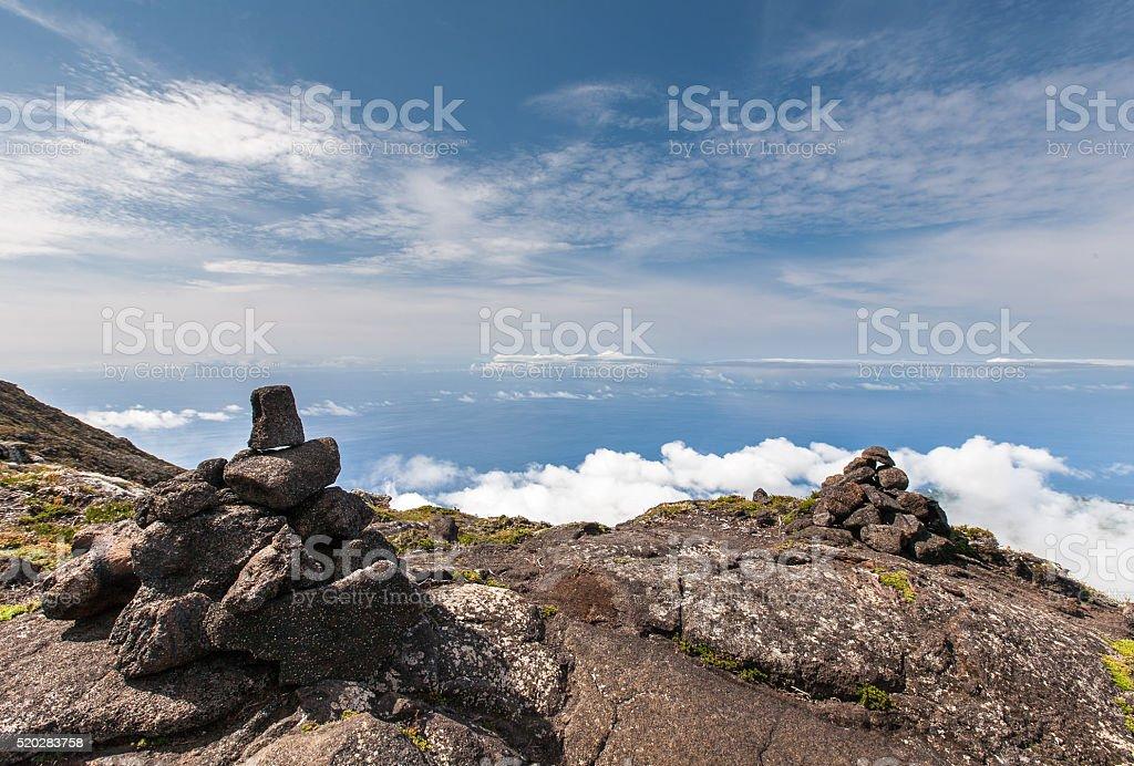 Portugal, Azores, Pico island stock photo