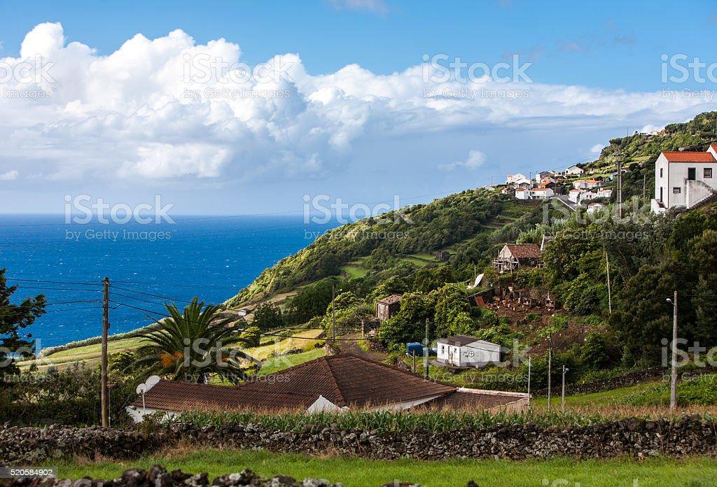 Portugal, Azores, Pico island. stock photo