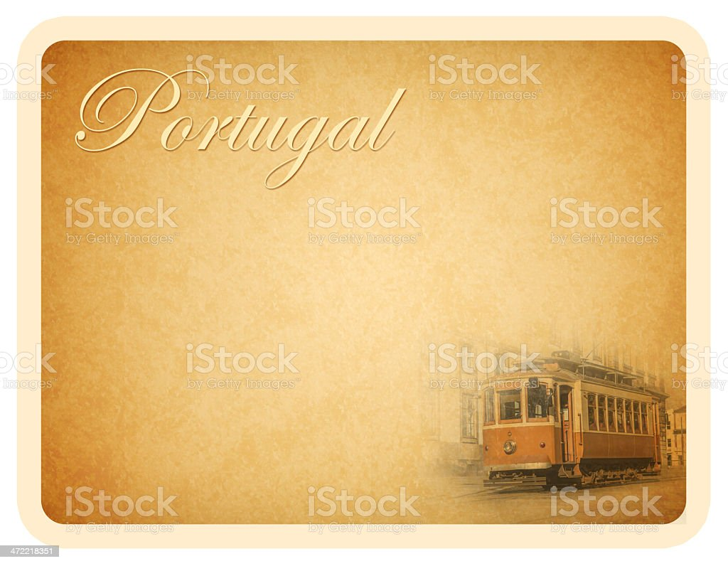 Portugal Card royalty-free stock photo