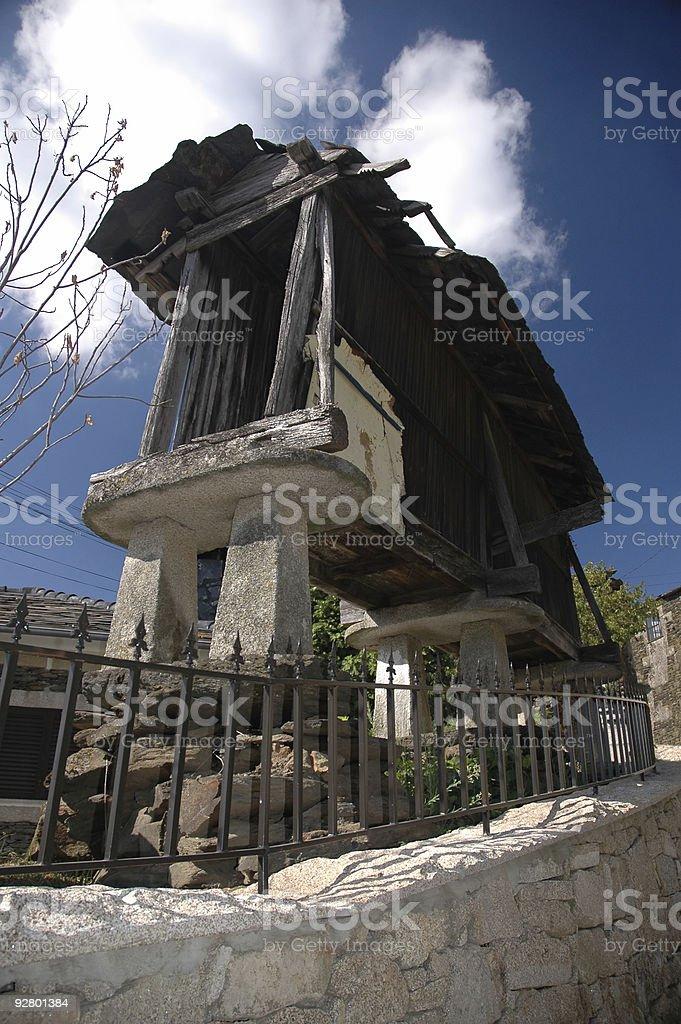 Portugal - Empty Granary stock photo