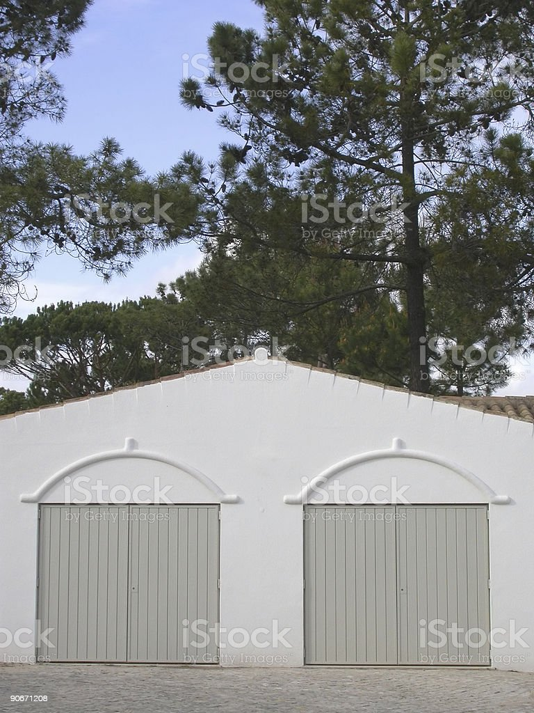 Portugal - Exotic Garage 2 royalty-free stock photo