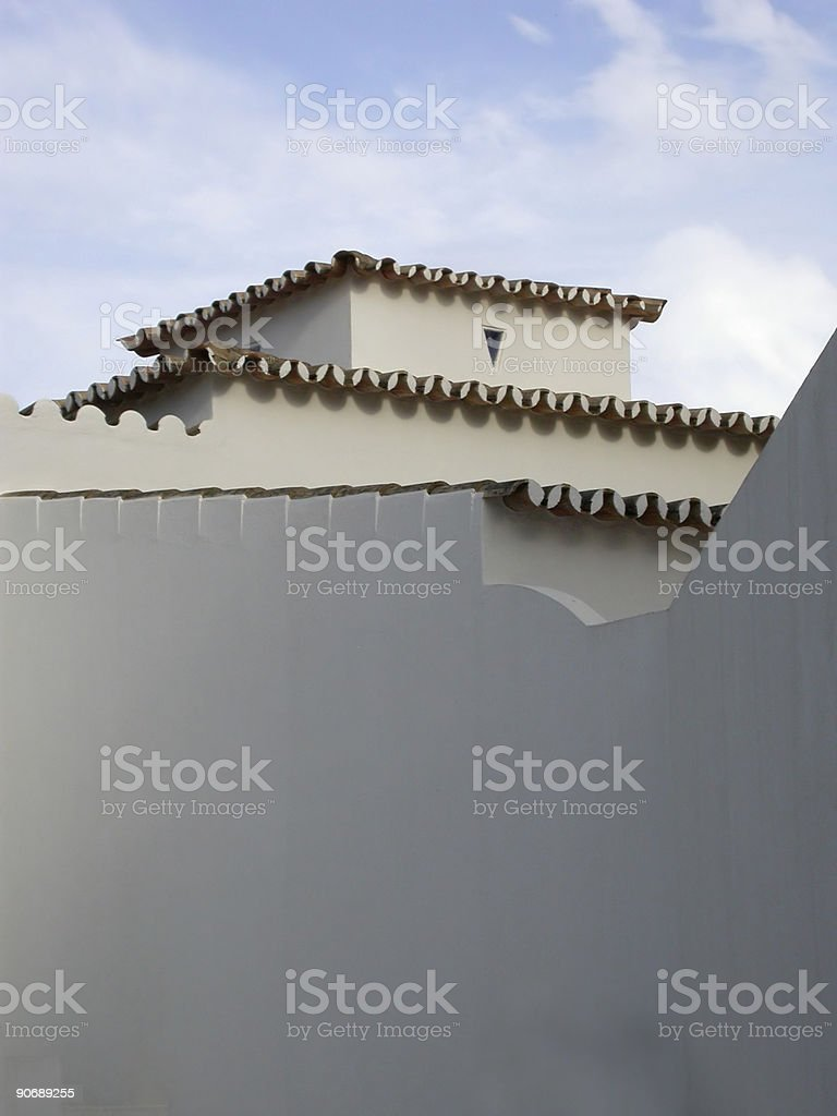 Portugal - Rooflines royalty-free stock photo
