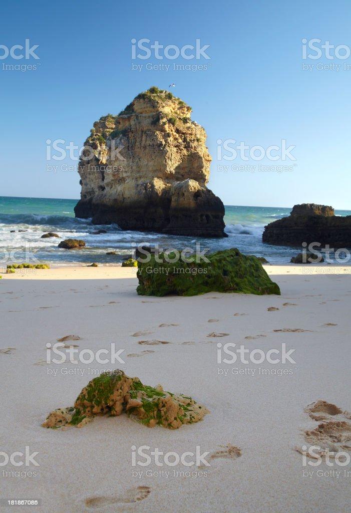 Portugal St. Rafael Beach stock photo