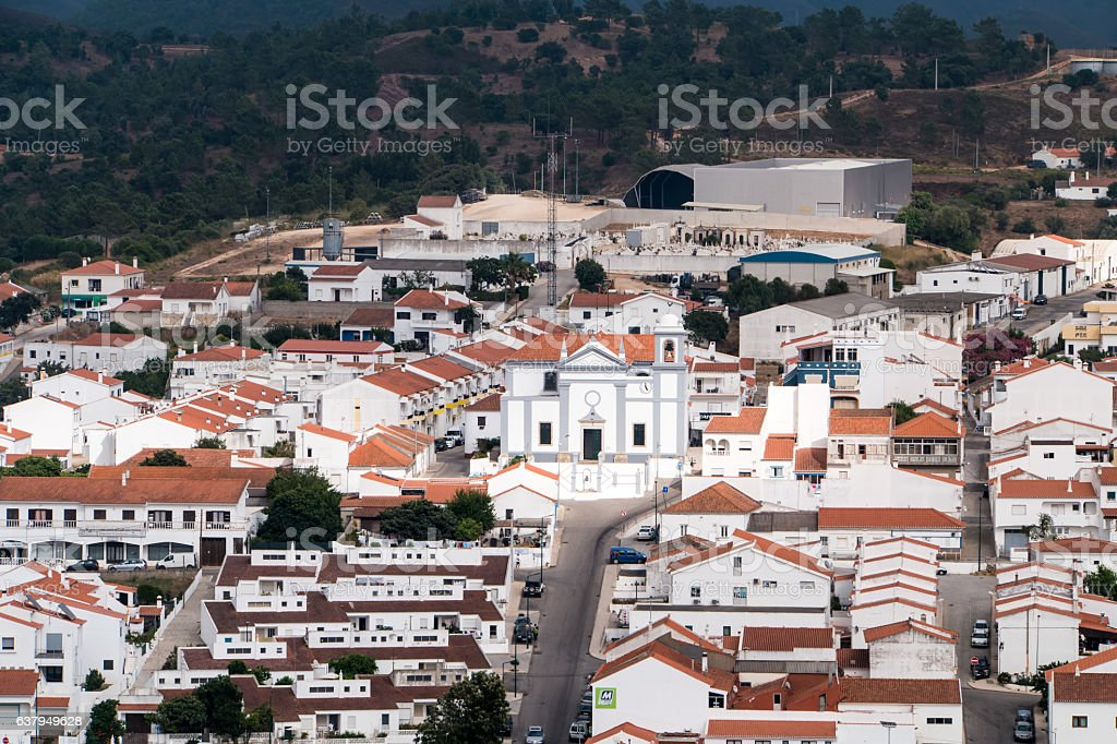 Portugal - Village in the mountains stock photo