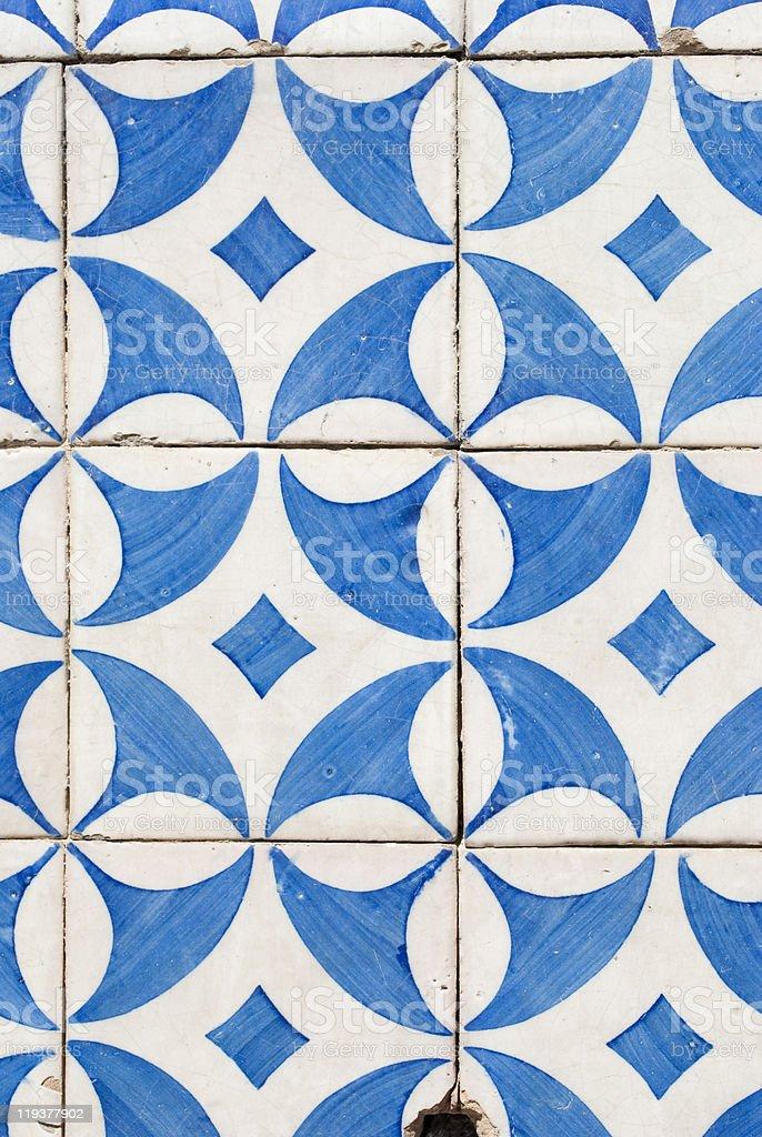 Portugese Azulejos royalty-free stock photo