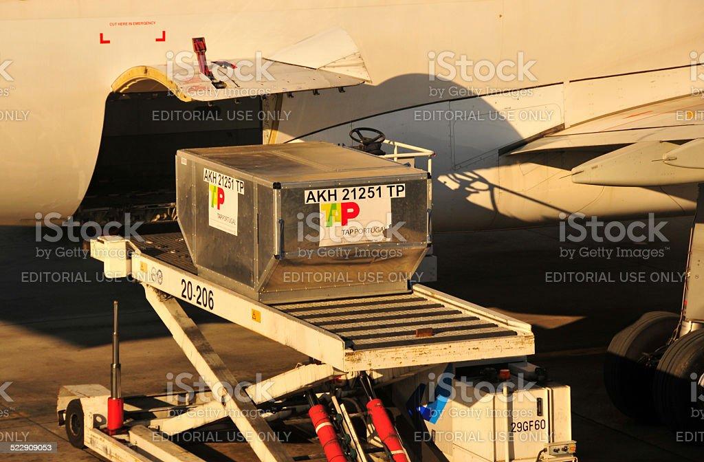 Portuguese exports stock photo
