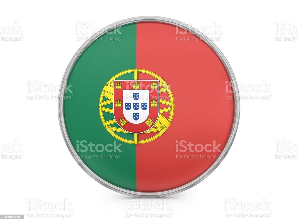 Portuguese flag royalty-free stock photo