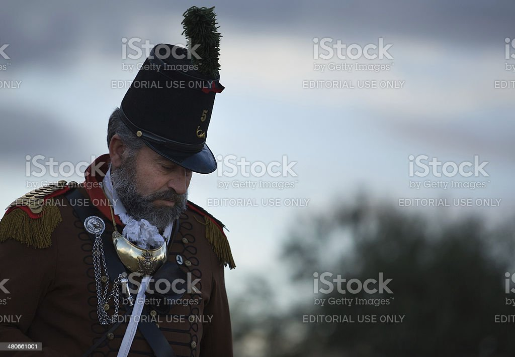 Portuguese general royalty-free stock photo