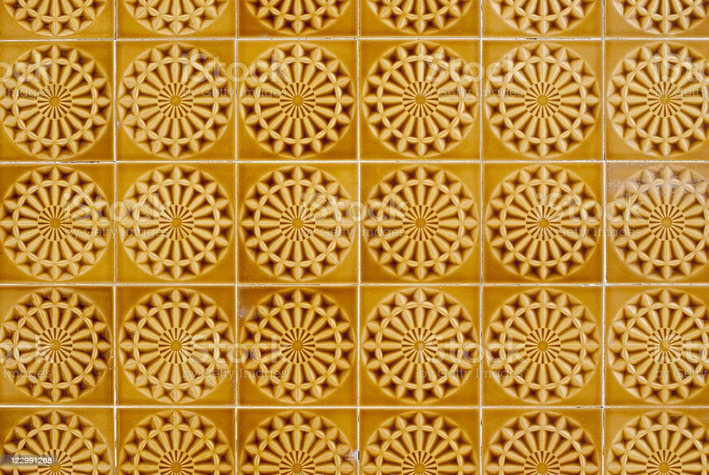 Portuguese glazed tiles 058 royalty-free stock photo