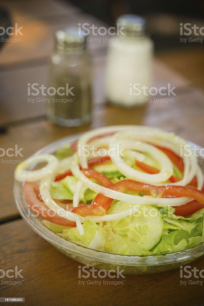 Portuguese Salad royalty-free stock photo