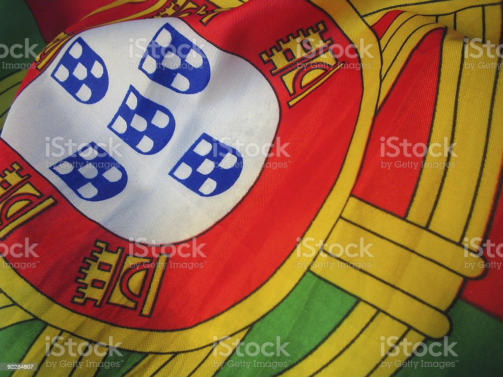 Portuguese Shields stock photo