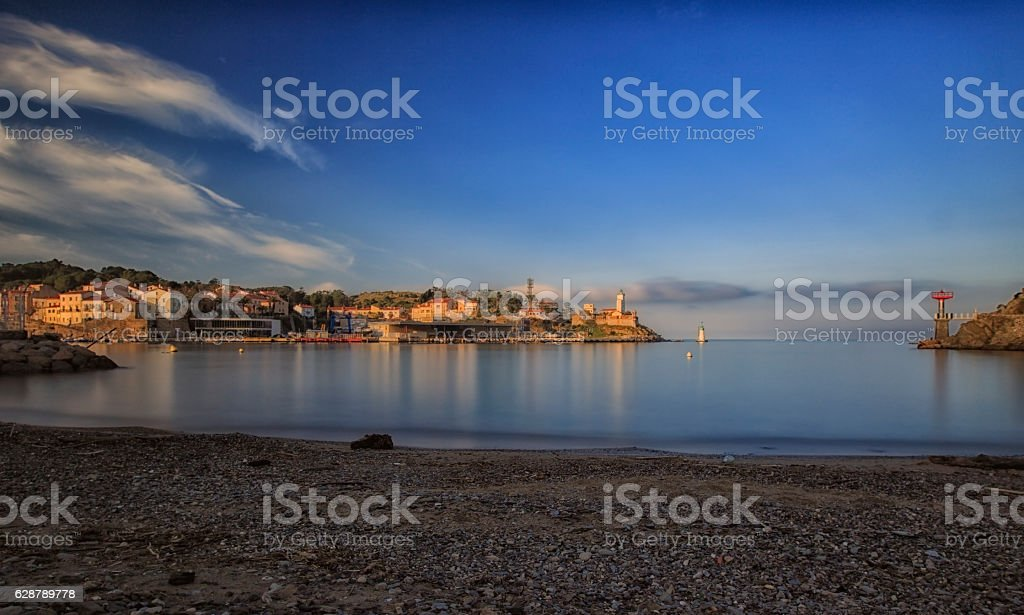 Port-Vendres stock photo