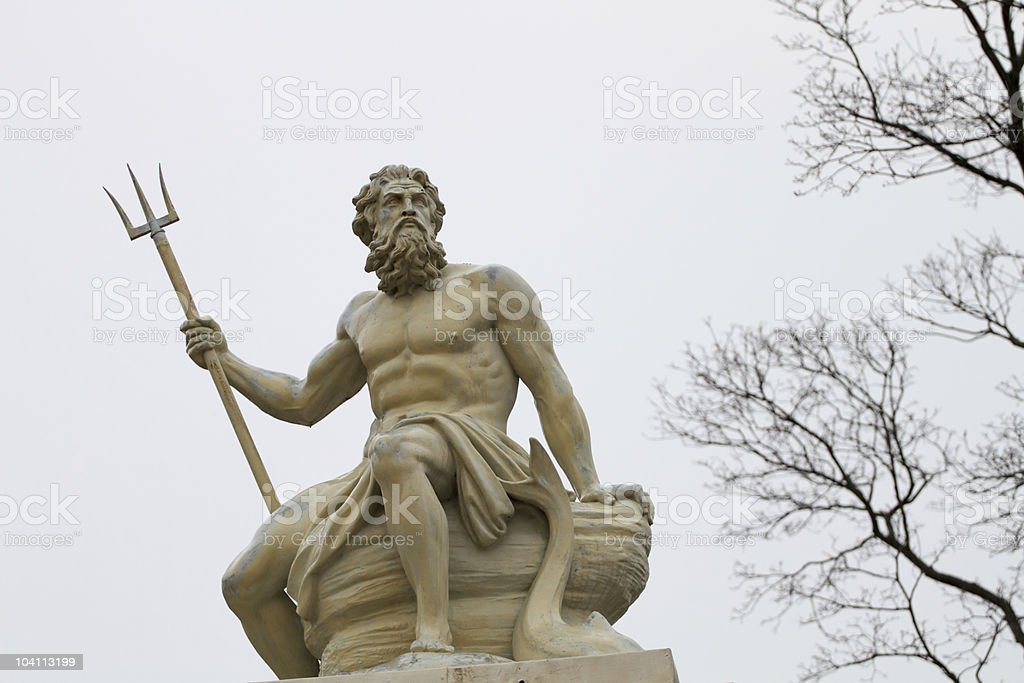 Poseidon royalty-free stock photo