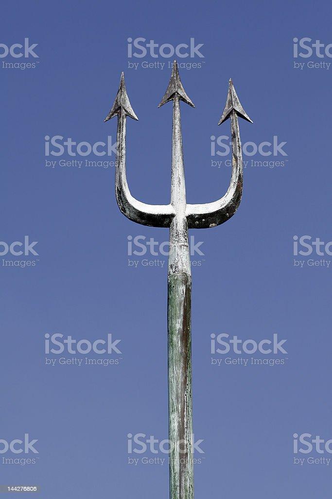 Poseidon's Trident stock photo
