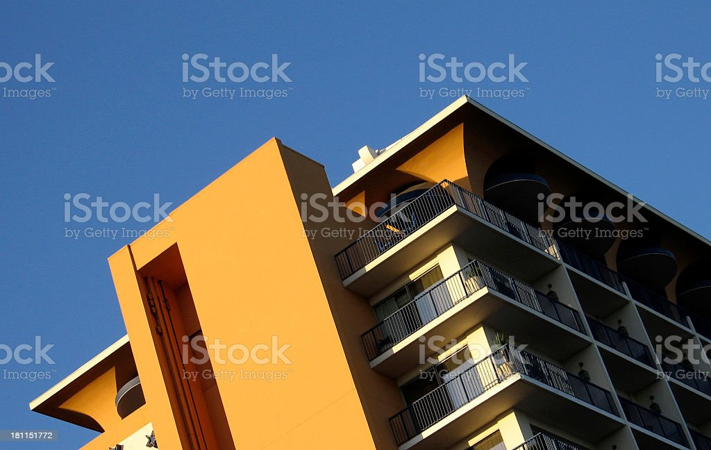 Posh Beverly Hills Hotel Close royalty-free stock photo