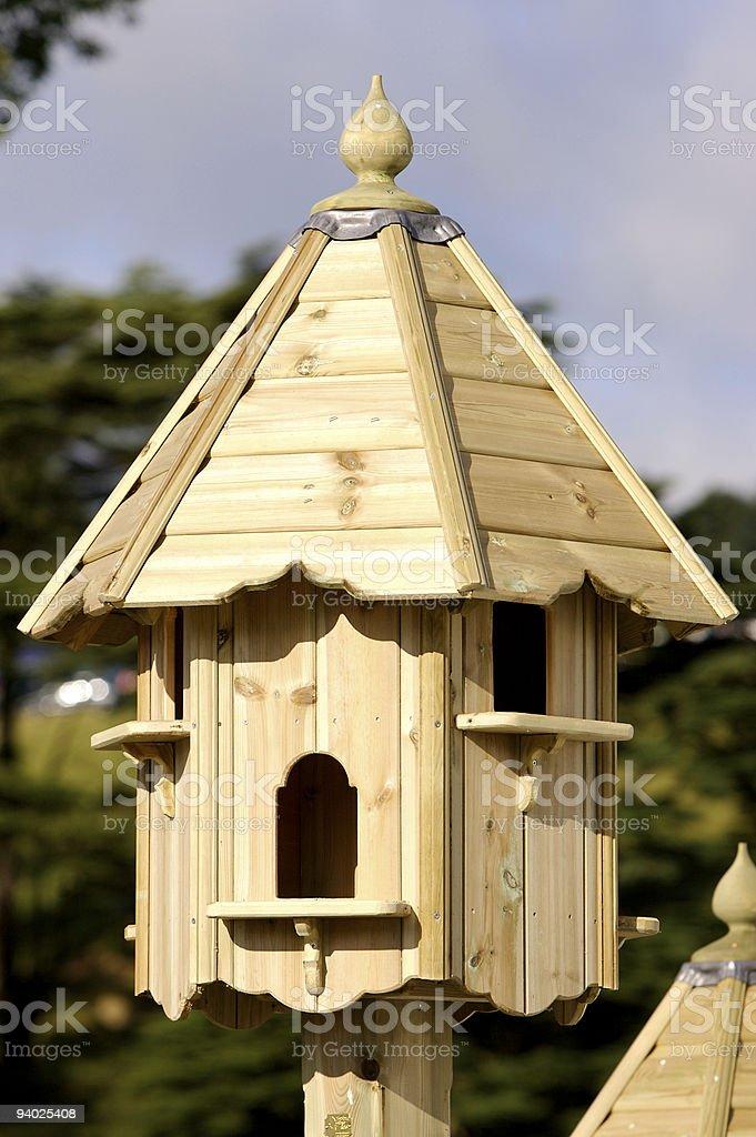 Posh Bird Table royalty-free stock photo