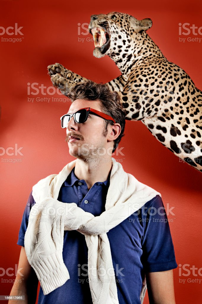 Posh man royalty-free stock photo